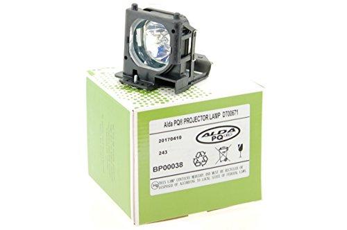 Alda PQ-Premium, Beamerlampe / Ersatzlampe für VIEWSONIC PJ552 Projektoren, Lampe mit Gehäuse
