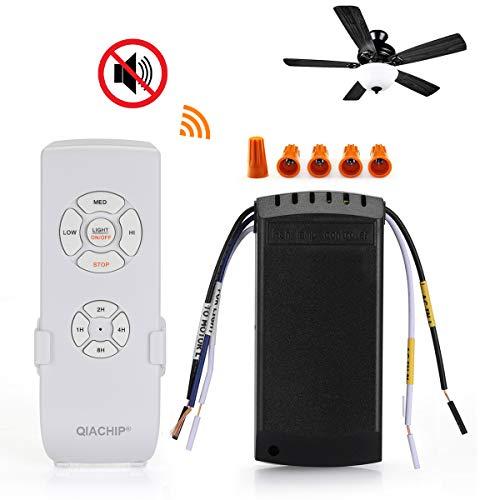 QIACHIP Ceiling Fan Remote Control Kit,WI-FI Smart Universal Ceiling Fan with Amazon Alexa