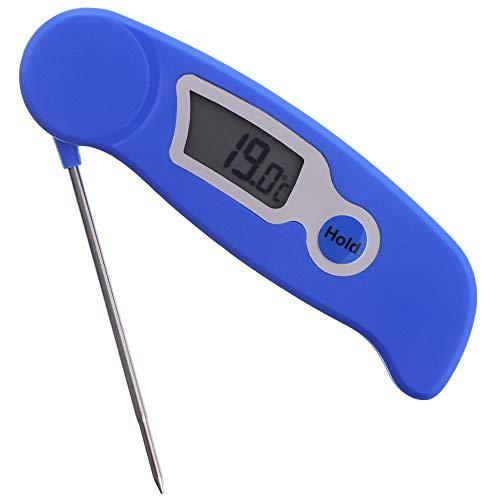 Kerzenherstellung Thermometer Digitalthermometer–Ideal Werkzeug für Kerze Makers für Melting Soja und Paraffin Wachs–Edelstahl Sonde leicht zu lesen Display