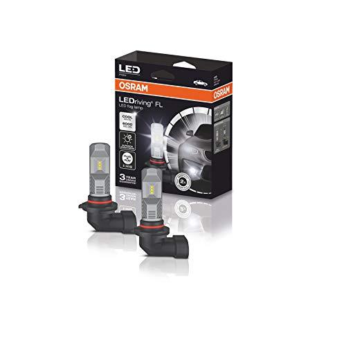 OSRAM LEDriving FL, Off-road ≙ H10, 12V, Retrofits, faros antiniebla LED, 9745CW, caja plegable (1 unidad), blanco frío