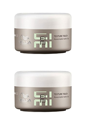 Wella Professionals Eimi Texture Touch Reworkable Clay DUO Pack 2 x 75ml by Wella Eimi