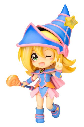 Yu-Gi-Oh Duel Monsters queue Posh Black Magician Girl (NON scale painted action figure) (japan import)