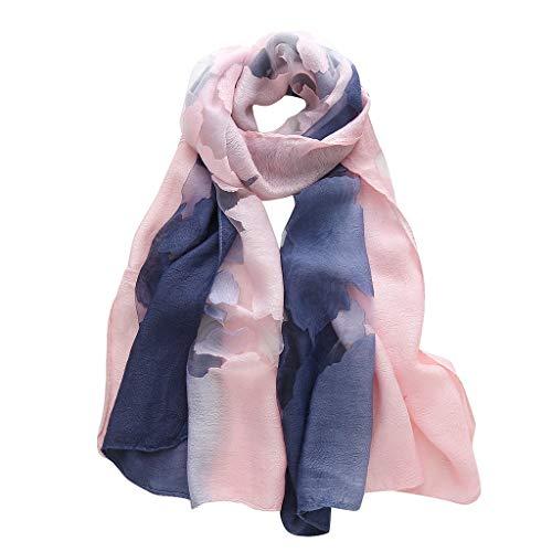 Dtuta HalstüCher Zwei-Farben-Transparentes Muster Schals Schal Klimaanlage Schal Sonnencreme Turban Gewickelt Brust Handtuch Urlaub Am Meer Freizeitkleidung Passende Dekoration