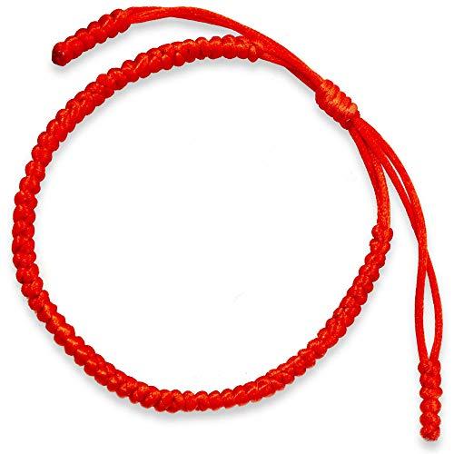 Pulsera Tibetana roja hombre pulseras de hilo pulsera budista pulsera hilo pulsera tibetana pulsera roja pulsera hilo rojo del destino pulseras masai