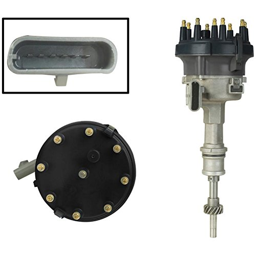 New Distributor Replacement For 1986-1993 Replacement Ford Mustang w/Module EFI Fuel Injected 5.0L V8 302, Replaces Replacement Ford E5ZE 12127-BA, E6AE 12127-DA, E6AZ 12127-D