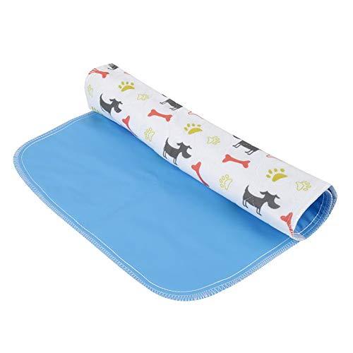 Yosoo 犬の尿パッド 再使用可能 防水 犬パッド ベッドパッド 尿マットペット レギュラー 折り畳み可能 滑り止め 犬 猫用 通気性 柔らかい 耐摩耗性 耐久性 洗濯可能 強吸水性 おしゃれ(40*60cm)