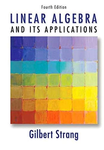 Linear algebra and its application (English Edition)