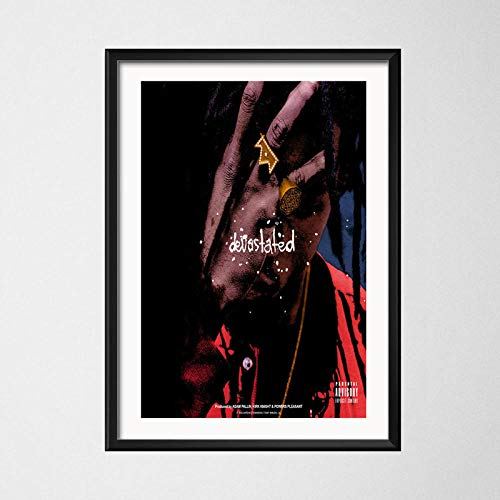 T-YIFUZX All Amerikkkan Badass Joey Bada Popular Album Music Cover Rap Hip-Hop Art Painting Canvas Poster Wall Decor 60x100cm_no_Frame_3