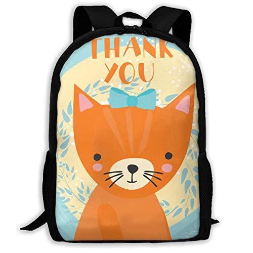 Hui-Shop Sac à Dos de Voyage pour Ordinateur Portable Backpack Large Diaper Bag - Cute Fox Backpack School Backpack for Women & Men