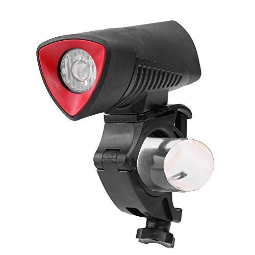 SHIZIZUO Faros de bicicleta, luz delantera de la bicicleta, USB recargable L2 LED bicicleta luz delantera impermeable Ciclismo faros-244559