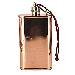 copper anniversary gifts for him: copper flask