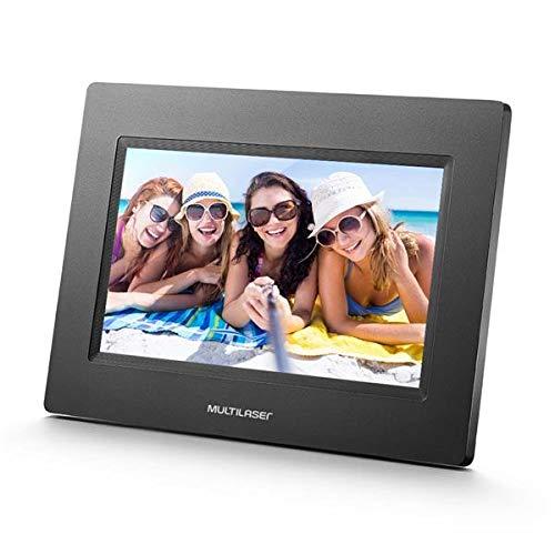 Porta Retrato Digital Portátil LCD 7' Multilaser - SP260