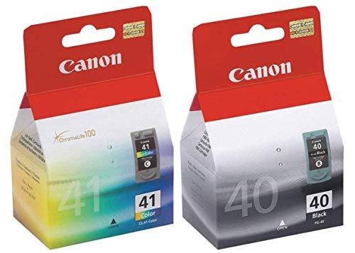 Canon Juego de cartuchos de tinta PG-40 y CL-41