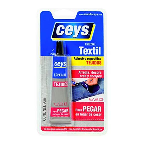 ceys 501024 PEGAMENTO TEXTIL TEXTILCEYS BLISTER 30 ml