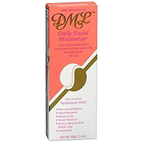 DML Facial Moisturizer SPF- 25, 1.5 Oz