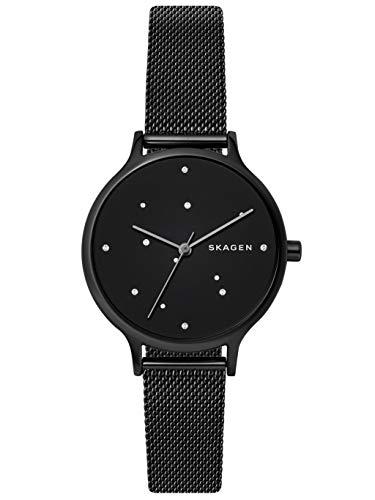 Skagen Damen Analog Quarz Uhr mit Edelstahl Armband SKW2761