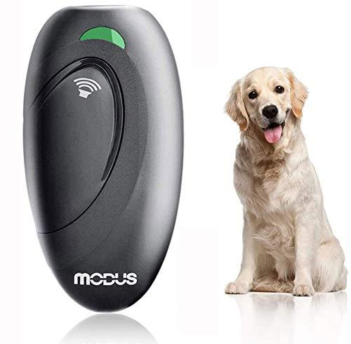 VINSIC Anti-Bellen-Gerät, Ultraschall-Hundebellen - Sichere und Schmerzfreie Hunderkontrolle für den Innen- und Außenbereich - Halsband Hundetraining (Schwarz-105B)