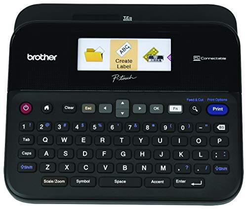 Brother P-touch Label Maker, PC-Connectable Labeler, PTD600, Color...