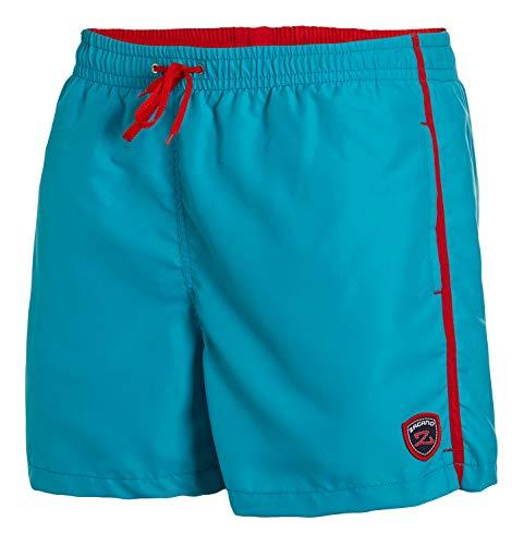 Zagano Milan Zwembroek voor heren, met zijzakken en achterzak, modieuze herenshorts, zwemmen, vrije tijd, watersport, comfortabel zwemshort in vele kleuren, maat S - 6XL