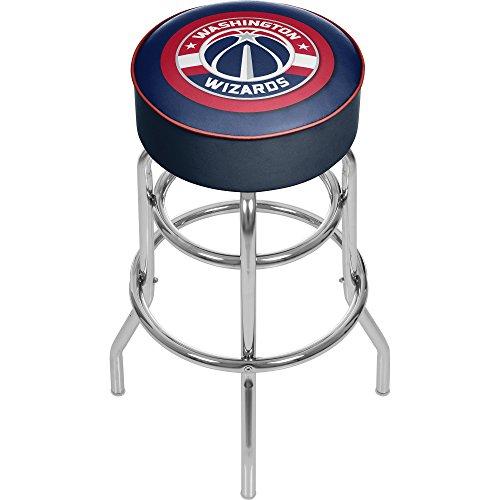Trademark Gameroom NBA Washington Wizards Gepolsterter Barhocker mit Drehgelenk