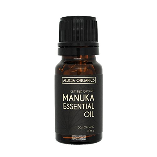 Alucia Organics Olio Essenziale di Manuka Certificato Organico 10ml