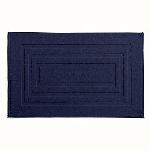 Today Tapis de Bain, Coton, Bleu Marine, 85x50 cm