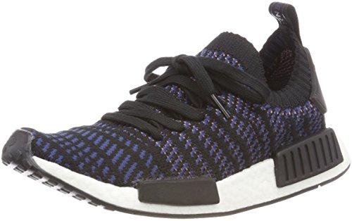 adidas Damen NMD_R1 STLT Primeknit Schuh, Schwarz (Negbás / Roscen / Indnob 000), 39 1/3 EU