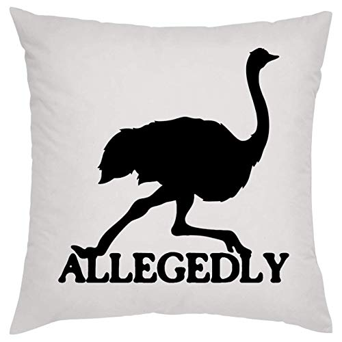 Ostrich Allegedly Kissen Pillow