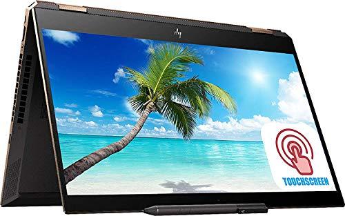 Premium HP Spectre X360 15 15t 2-in-1 Laptop PC 15.6' 4K UHD IPS Touchscreen 10th Gen Intel Core i7-10510U 16GB RAM 1TB SSD GeForce MX250 FP Reader RGB Backlit KB Thunderbolt Win 10 - HP Pen&Sleeve
