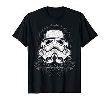 Star Wars Tattoo Stormtrooper Helmet Graphic T-Shirt