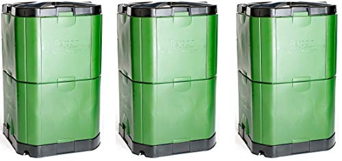 Why Should You Buy Exaco Trading Co. Aerobin 400 Exaco Insulated Composter and Self Aeration System,...