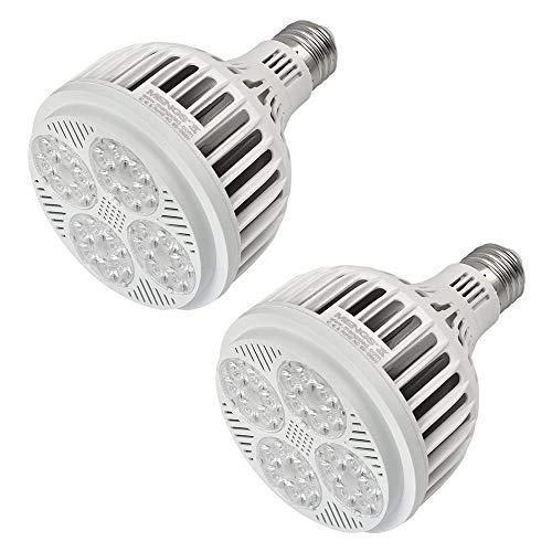 MENGS 2-er Pack E27 PAR30 LED Strahler 25W LED Lampen 24x 3030 SMD Ersetzt 200W Halogen 3100LM Warmweiß 2800K AC 85-265V