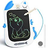 KingsDragon LCD Writing Tablet Drawing Doodle Board, Colorful Toddler Doodle Board Drawing Tablet, Erasable Reusable Electronic Drawing Pads, Educational and Learning Toy for Boys Girls(Blue)