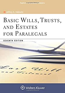 Basic Wills, Trusts, and Estates for Paralegals (Aspen College)