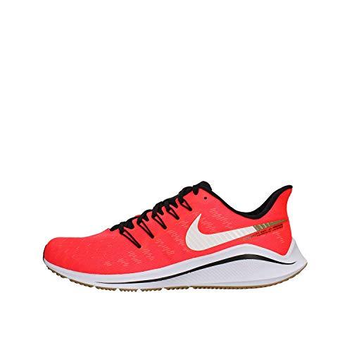 Nike Men's Air Zoom Vomero 14 Running Shoes, Red (Red Orbit/White/Black/Parachute Beige 620), 11 UK
