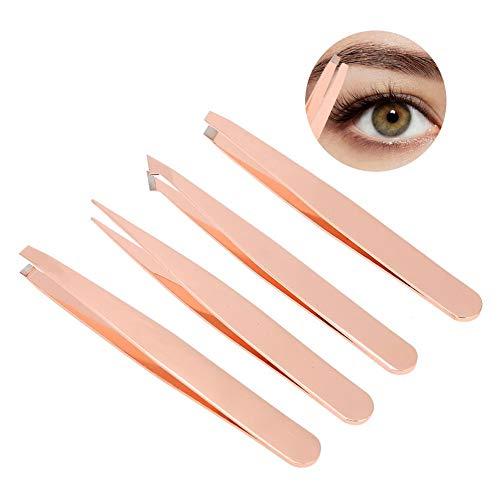 4pcs d'outil de maquillage d'épilateur de cheveux de sourcil de Tweezer