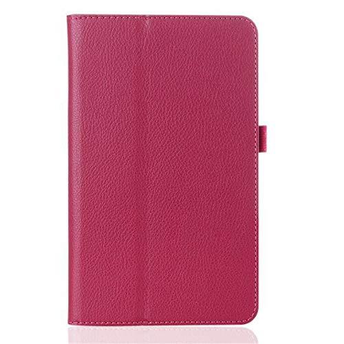 Para Lenovo Tab E10 Caso TB-X104F Tablet caso PU Funda protectora para Lenovo Tab E10 caso 10.1 10 pulgadas Tablet Flip Stand Cover-Rose