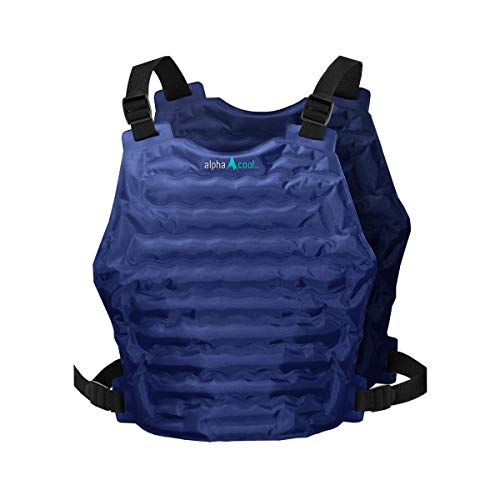 Alphacool Polar Cooling Vest for Men and Women – Reusable Flexible Cooling Ice Vest with...