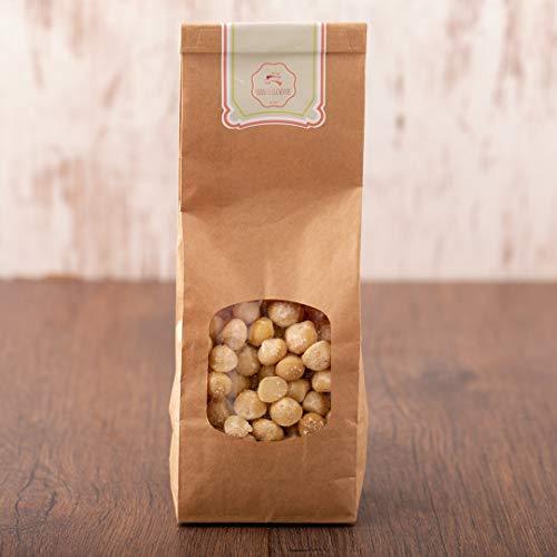 süssundclever.de® Macadamianüsse Bio   500g   Macadamiakerne   Premium Qualität   hochwertiges Naturprodukt   plastikfrei abgepackt in ökologisch-nachhaltiger Bio-Verpackung   Macadamia