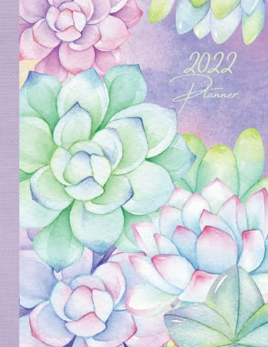 2022 Week To View Diary: Vintage Floral Botanical Agenda, Busy Life Planner