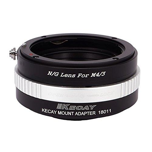 KECAY Adaptar Lentes para Nikon (G) DX AFS Mount a Cámaras Micro...