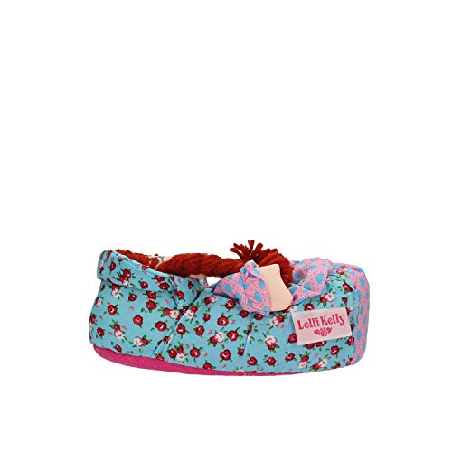 Lelli Kelly Art. AJ01, Ciabatta Pantofola Bambina Bambola Castana (26/27 EU)