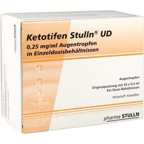KETOTIFEN Stulln UD Augentropfen Einzeldosispip. 50X0.4 ml