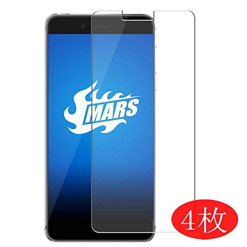 【4 Pack】 Synvy Screen Protector for Vernee Mars/Mars Pro 0.14mm TPU Flexible HD Clear Case-Friendly Film Protective Protectors [Not Tempered Glass] New Version