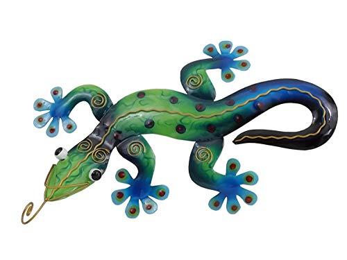 Klp Gecko Deko Lurch Eidechse Wanddeko Wandbild Salamander Echse Drache Skulptur