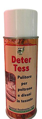 Chemical Roadmaster Italia Deter Tess: pulitore per poltrone e divani in Tessuto. Schiuma Attiva Spray