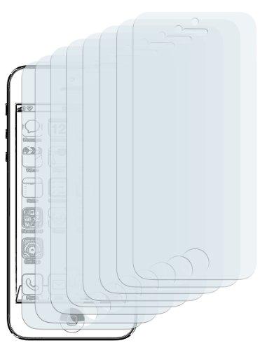 mumbi Schutzfolie kompatibel mit iPhone SE (2016) 5S 5C 5 Folie klar, Displayschutzfolie (8X)