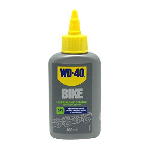 WD-40 Bike • Lubrifiant Chaîne Conditions Sèches • Burette • Réduit les points de friction • Formule au PTFE • Lubrification durable • 100 ML