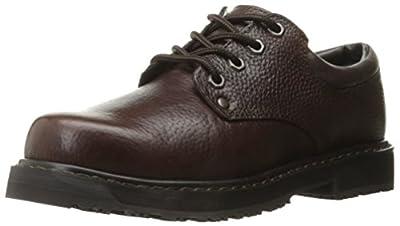 Dr. Scholl's Shoes Men's Harrington II Work Shoe, Bushwacker Brown, 8.5 W US