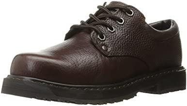 Dr. Scholl's Shoes Men's Harrington II Work Shoe, Bushwacker Brown, 10 W US